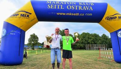 Brunner obhájil v rozpálené Ostravě titul Mistra ČR v běhu na 100 km