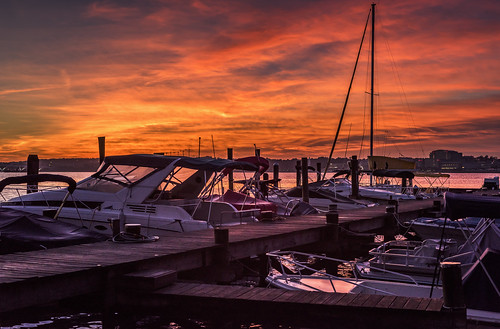 Dawn at the Dock by Geoff Livingston