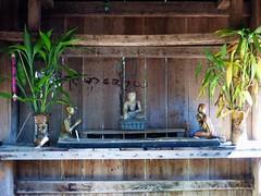 outdoor shrine, Naung Peng, Kyaukme temple