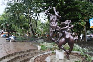 Lleras Park, Medellin, Colombia.