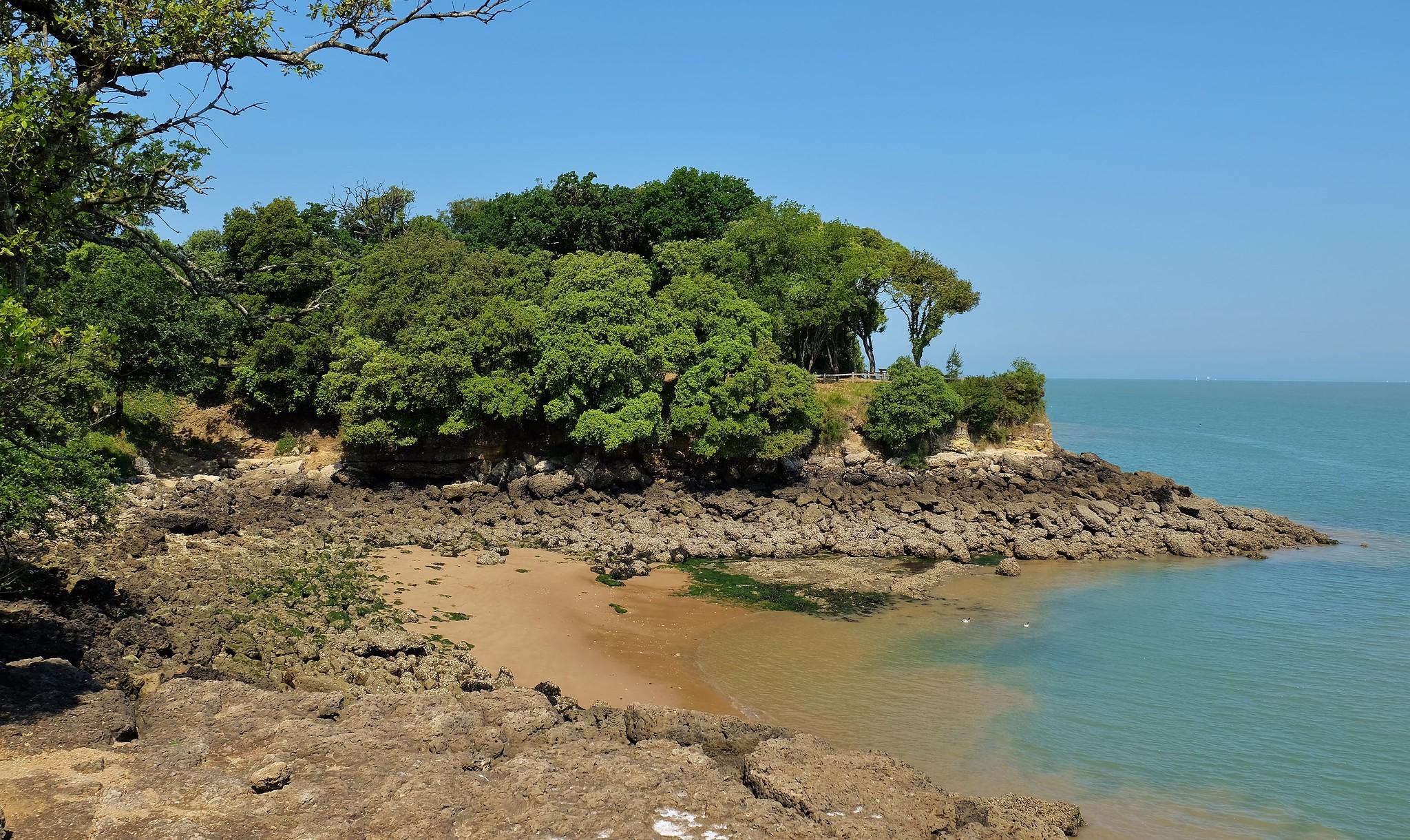 Baby Beach in Ile dAix - Charente-Maritime - France