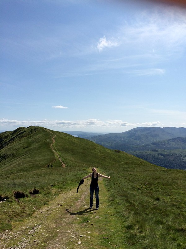 On the ridges near Grasmere