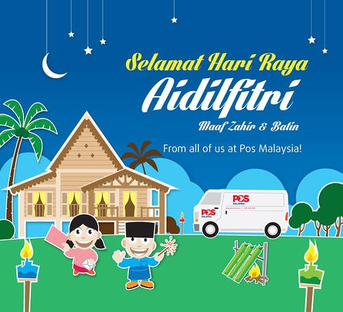Kad Raya Pos Malaysia