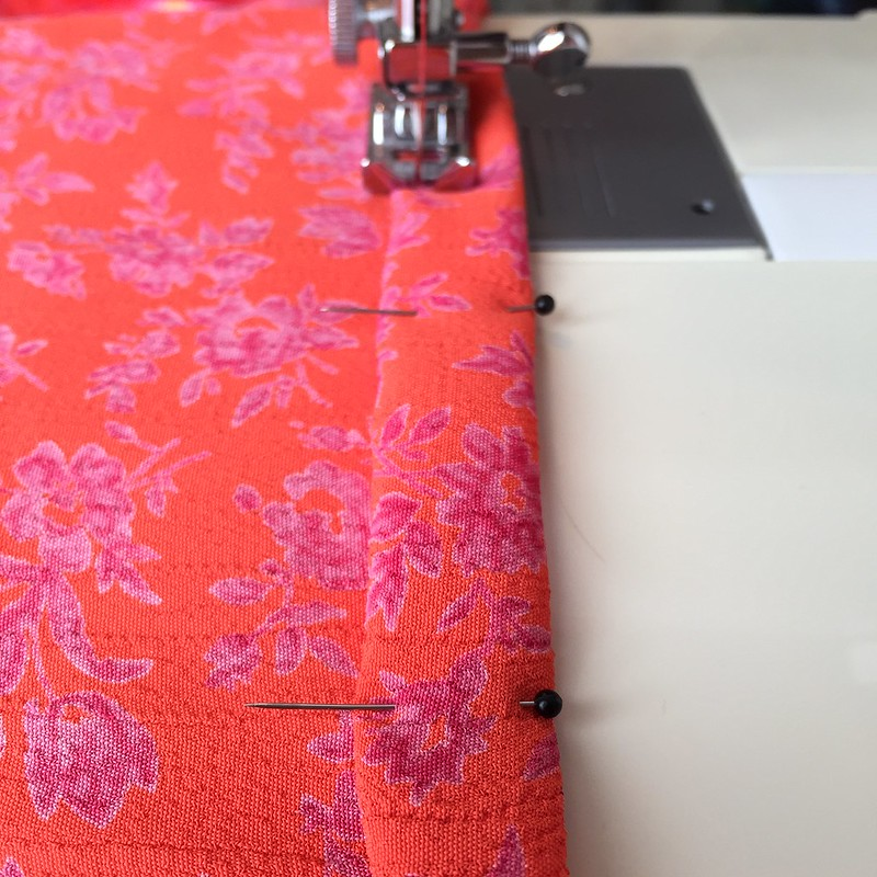 Orange You Glad Dress - In Progress