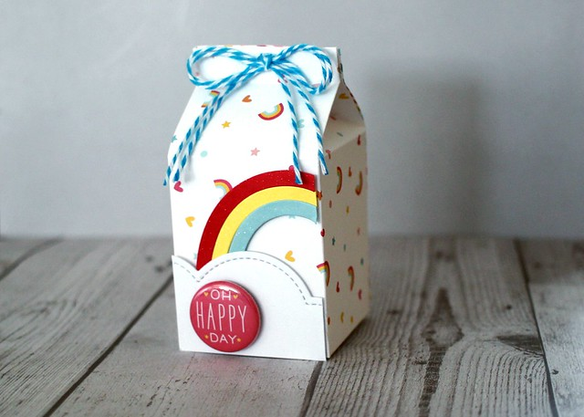 Milk Carton Rainbows
