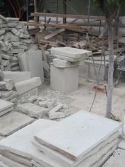 Sidewalk stones