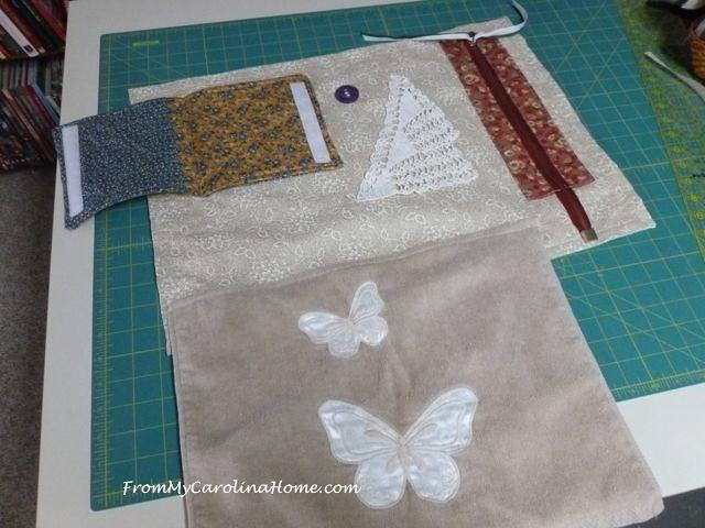 Alzheimer's Fidget quilt 14