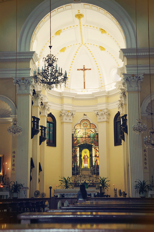 Random Church in Macau