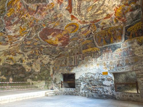 Sümela Monostor - belső terem