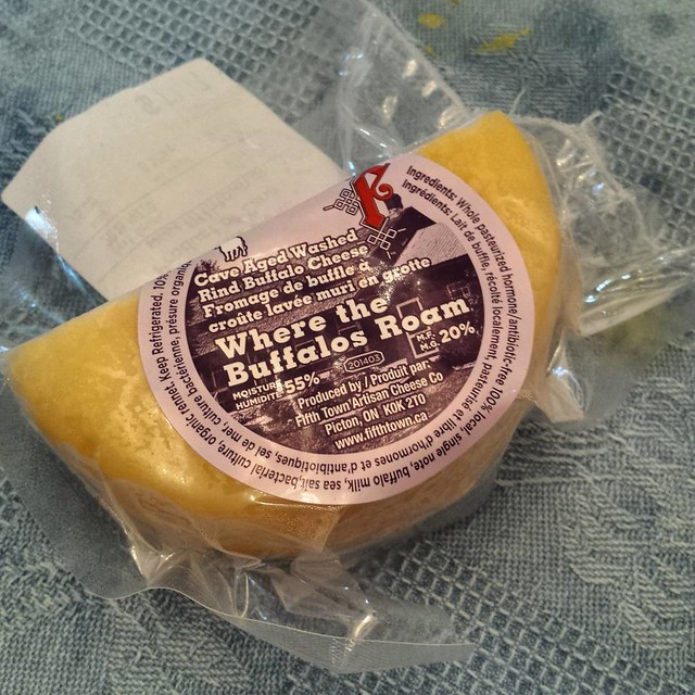Picked up a little something for Mom @fifthtown #cheese #buffalomilk #wherethebuffalosroam #princeedwardcounty #eatlocal