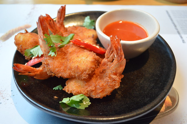 This is a picture of ebi katsu crispy fried prawns