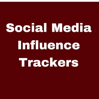 Social Media Influence Trackers