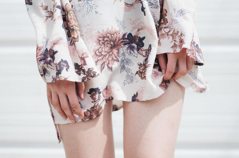 Free People Floral Tunic on juliettelaura.blogspot.com