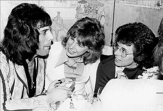 Freddie Mercury, Cindy/Cidny Bulles & Billie Jean King @ Le Poulailler, NYC - 1976