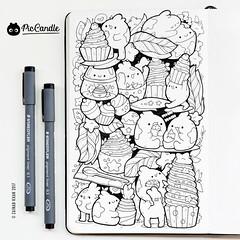Cupcakes Doodle 15JAN17
