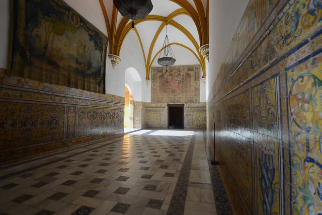 Alcazar Sevilla Interior ll