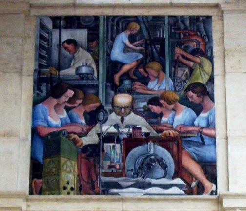 Diego rivera mural detroit institute of arts flickr for Diego rivera mural dia
