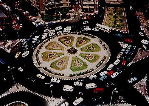 Cairo Traffic Circle