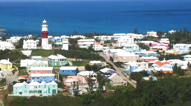 On approach to BDA, St. George, Bermuda