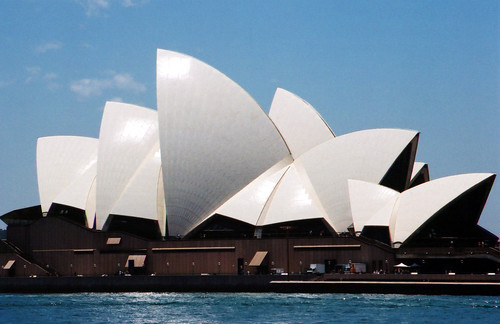 Sydney Opera House in Profile