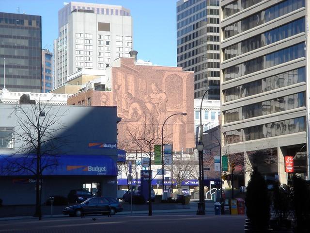 Yaletown Mural