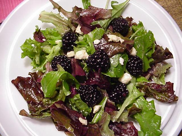 Blackberry Salad | Flickr - Photo Sharing!