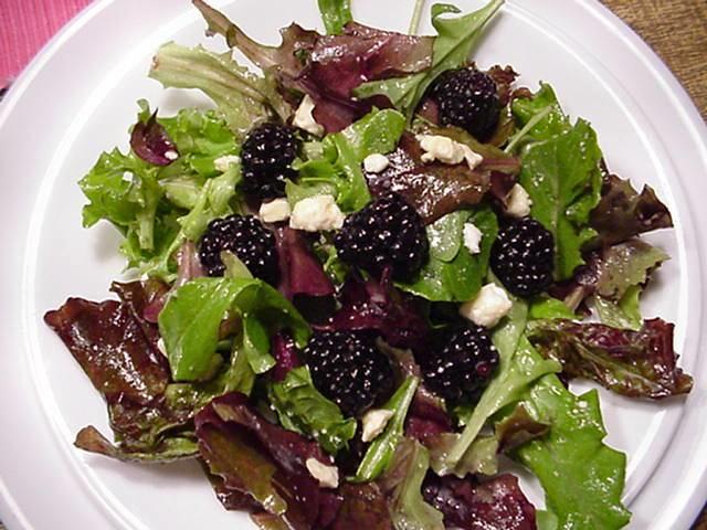 Blackberry Salad | Flickr - Photo Sharing!