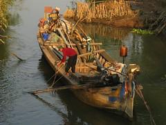 Cambodia - Bassac River Road (Kandal)