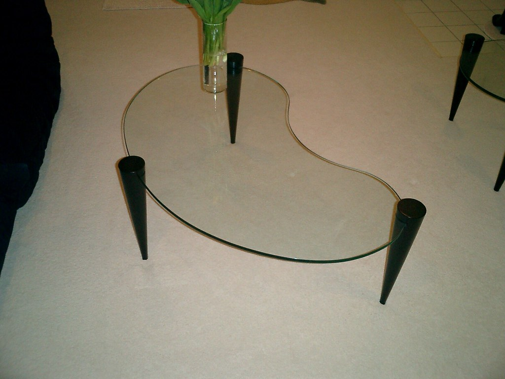 Kinsell Kidney Shaped Coffee Table