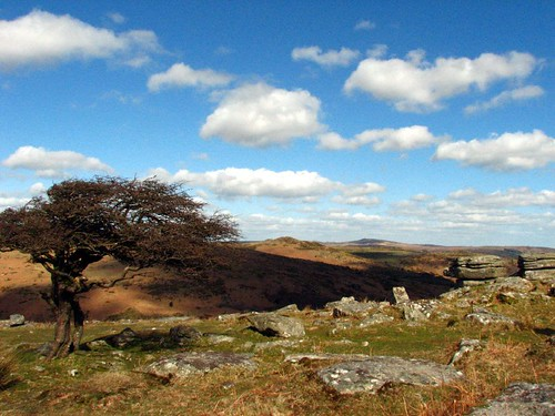 Dartmoor above Hexworthy