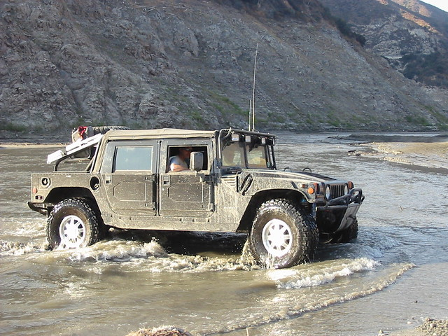 Hummer in the Mud