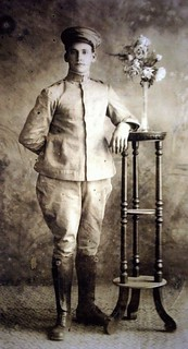 Joaquim Rolla no tiro de guerra em 1921