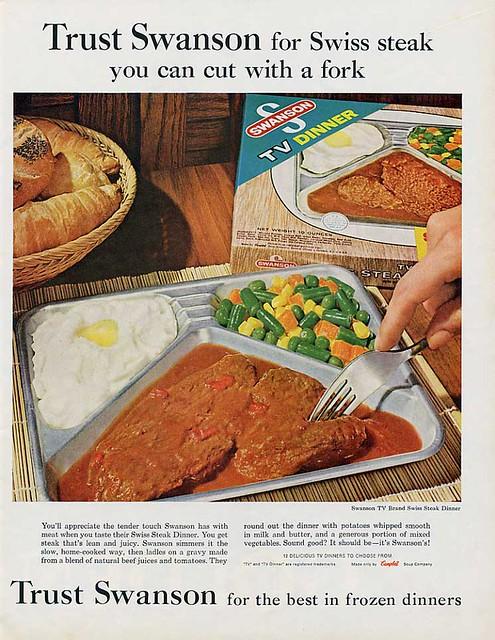 Swanson TV Dinner - Swiss Steak