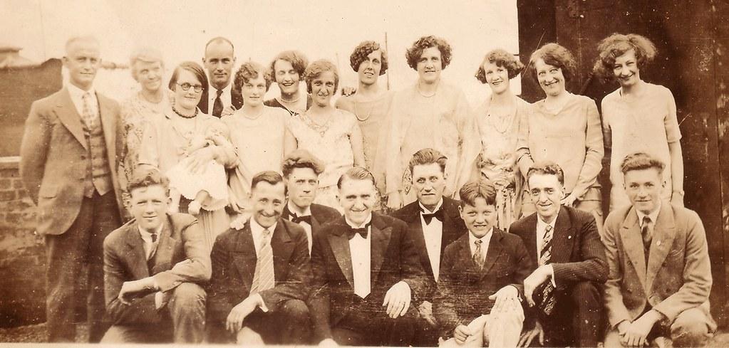 Theodore Roosevelt Lattin 1901 1980 And Bertha Christina Nelson