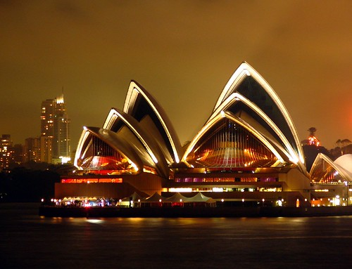 Opera House by night