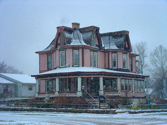 Pink House   A restored three-story house in Orleans ...