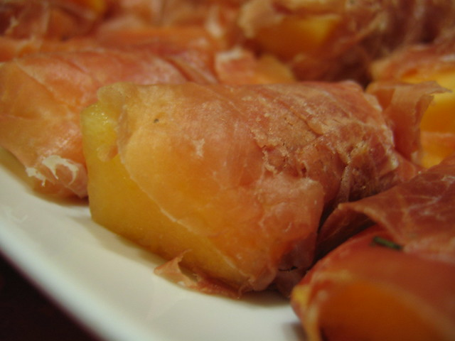 rock melon wrapped in prosciutto - cook in 9th dec 2005 | Flickr ...