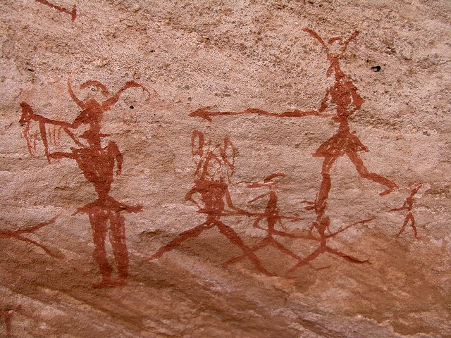 Acacus rock art