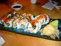 Mashiko sushi rolls