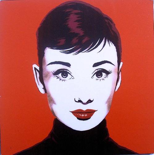 Audrey Hepburn icon