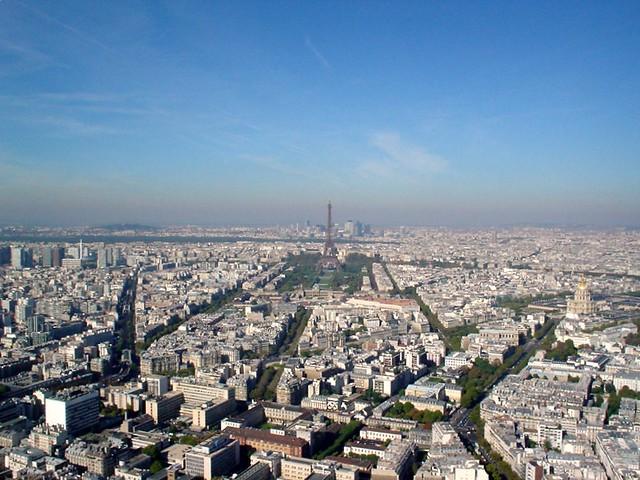 Paris from the Tour de Montparnasse