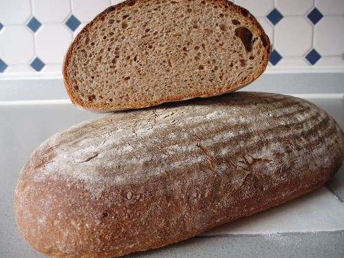 Whole-Rye and Whole-Wheat Bread