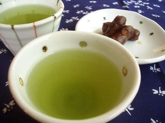 green tea / 緑茶