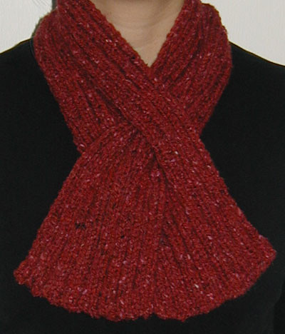 cabled keyhole scarf | knitspot - Knitting Patterns Knitspot