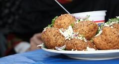 vegetable, fried food, arancini, food, dish, cuisine, meatball, falafel,