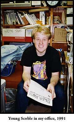 Robert Scoble in my vault 1991