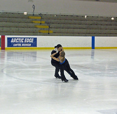 short track speed skating(0.0), individual sports(0.0), sports(0.0), axel jump(0.0), long track speed skating(0.0), skating(1.0), ice dancing(1.0), winter sport(1.0), recreation(1.0), outdoor recreation(1.0), ice skating(1.0), ice rink(1.0), figure skating(1.0),