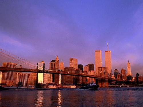 Skyline New York & Twin Towers
