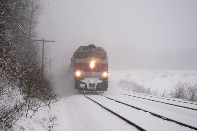 MBTA Commuter Train, Outbound