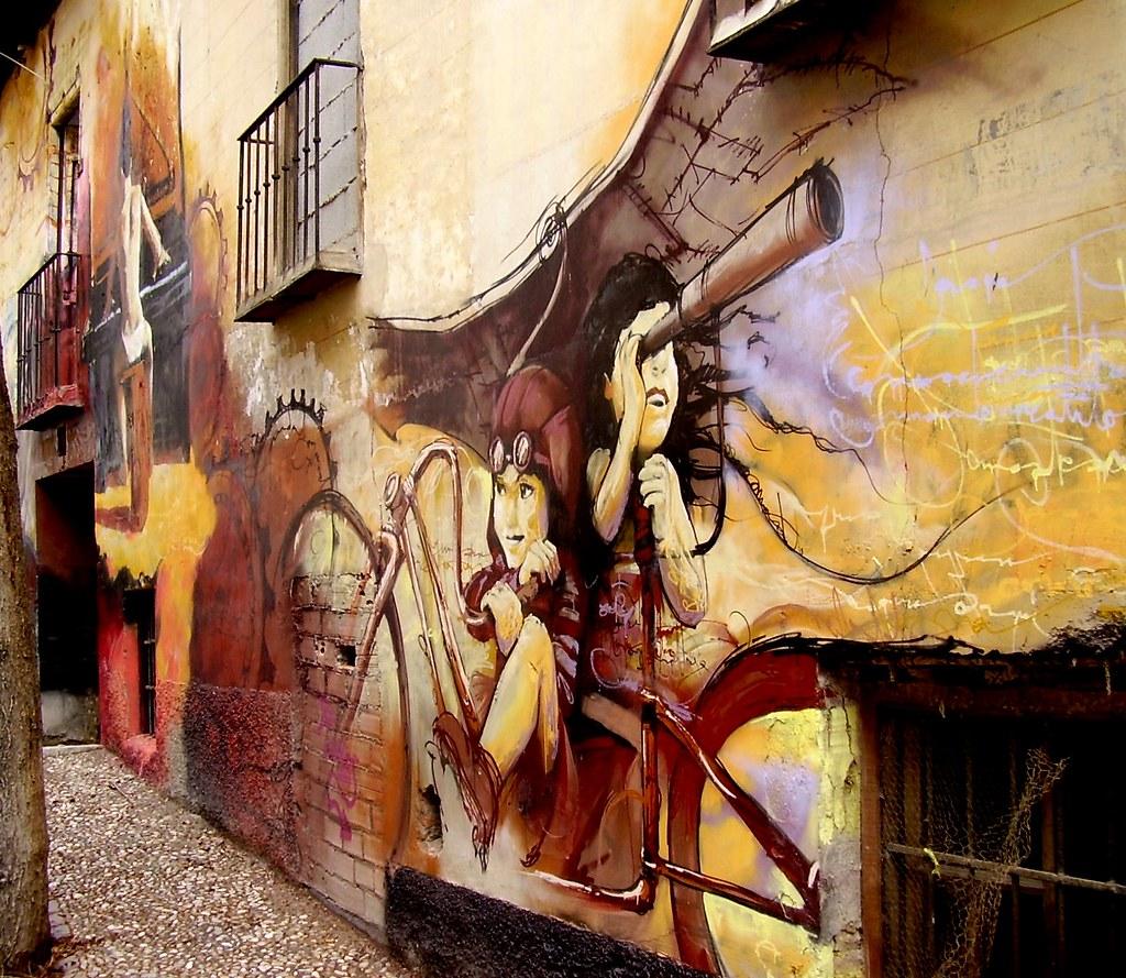el niño de las pinturas. Granada.